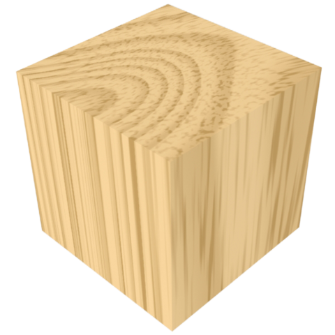 Natural Wood Color Block