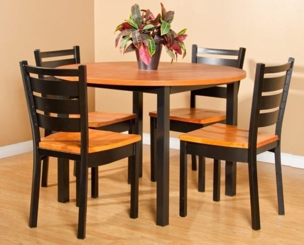 Round Parsons Table