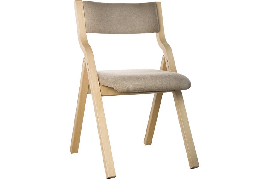 Upholstered Folding Chair University Loft Company