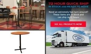 Pedestal Table Quick Ship